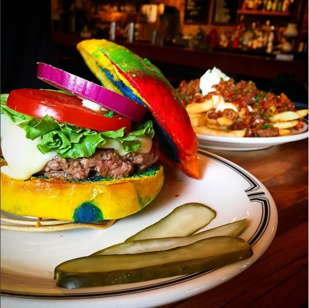 rainbow-burger